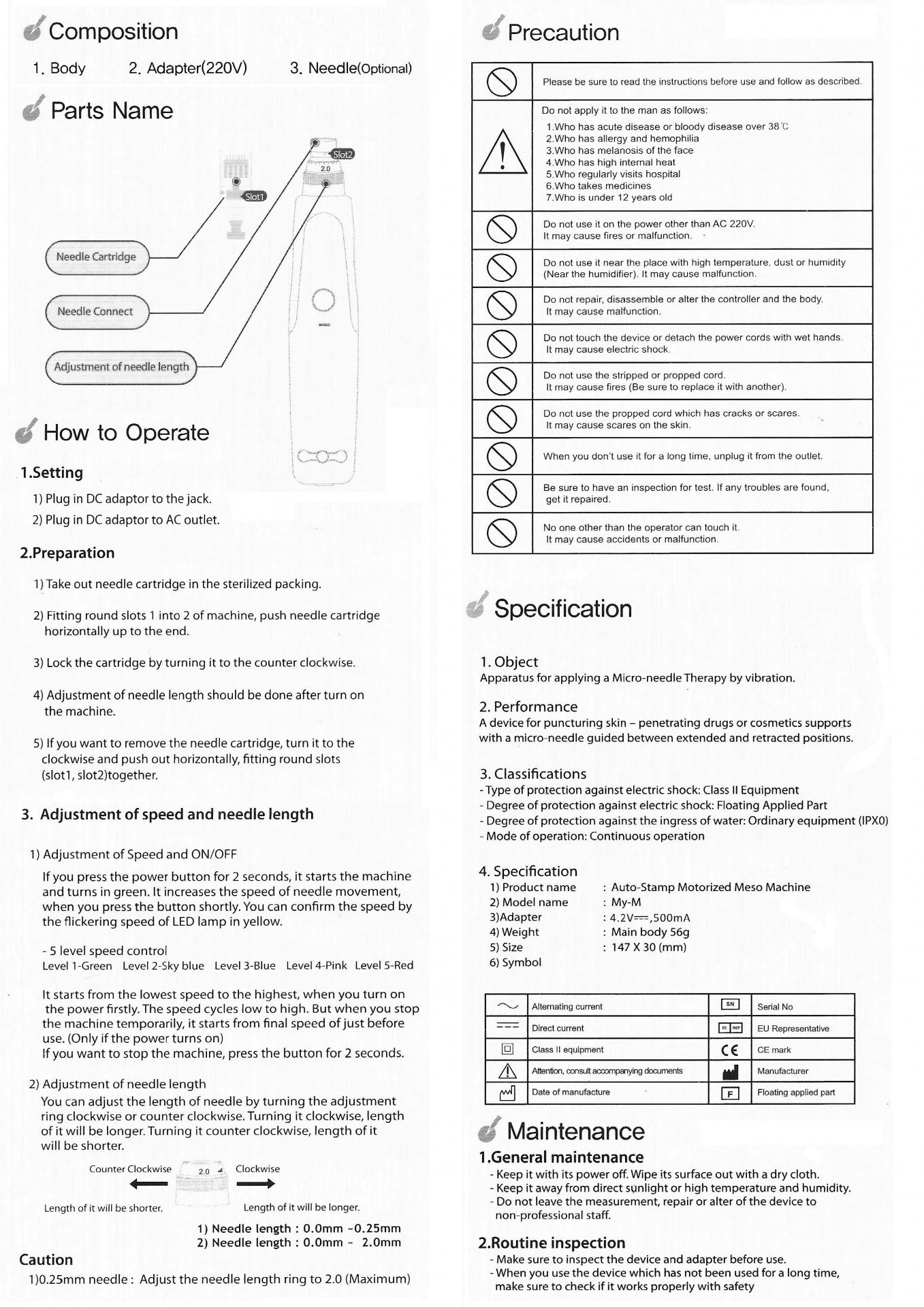Derma Pen    Ref.131165