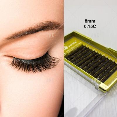 Extensão de Pestanas Eyemix | 0.15C - 8mm | Ref.861429