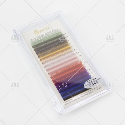 Extensão de Pestanas Coloridas Eyemix - 12mm - 0.10C | Ref.862509