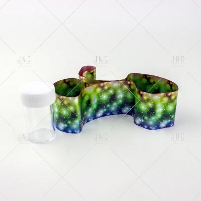Foil Nail Art - Verde/Azul | Ref.861335