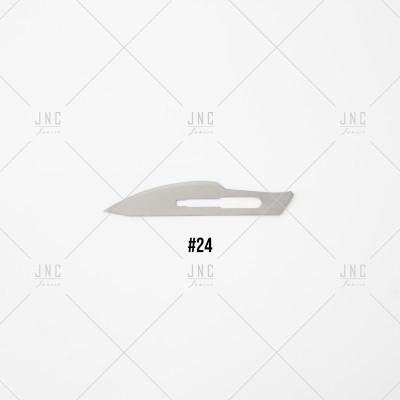 Lâmina #24 para Faca Cirúrgica | LFC24