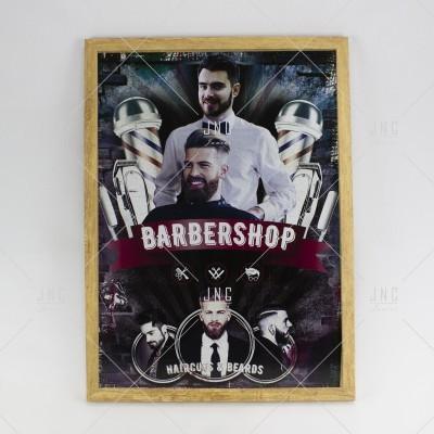 Quadro Barbearia #1 - Ref.862162