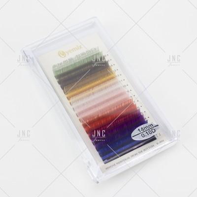 Extensão de Pestanas Coloridas Eyemix - 14mm - 0.10D | Ref.862513
