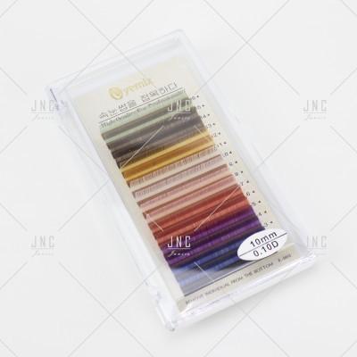 Extensão de Pestanas Coloridas Eyemix - 10mm - 0.10D | Ref.862511