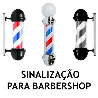 Sinalização para Barbershop