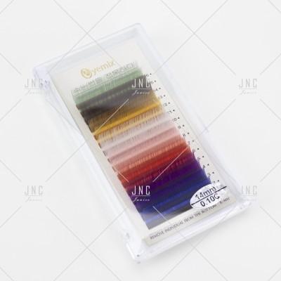 Extensão de Pestanas Coloridas Eyemix - 14mm - 0.10C | Ref.862510