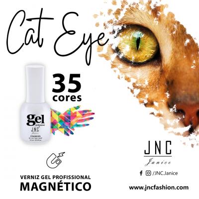 Kit (6 unidades) Verniz Gel Cat Eye