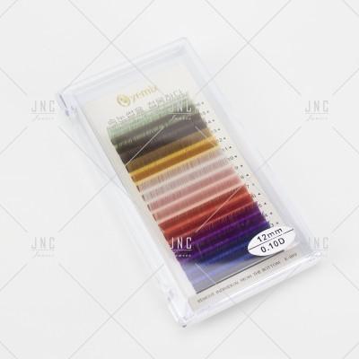 Extensão de Pestanas Coloridas Eyemix - 12mm - 0.10D | Ref.862512