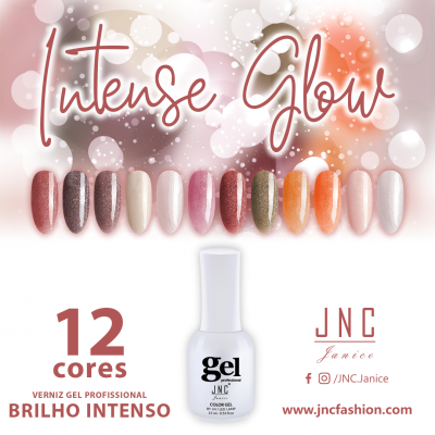 Kit (12 unidades) Verniz Gel Intense Glow