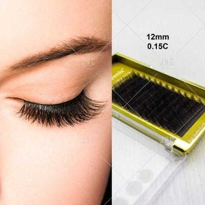 Extensão de Pestanas Eyemix | 0.15C - 12mm | Ref.861433