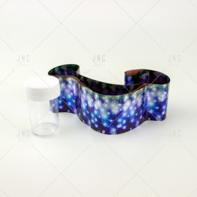 Foil Nail Art - Azul | Ref.861335