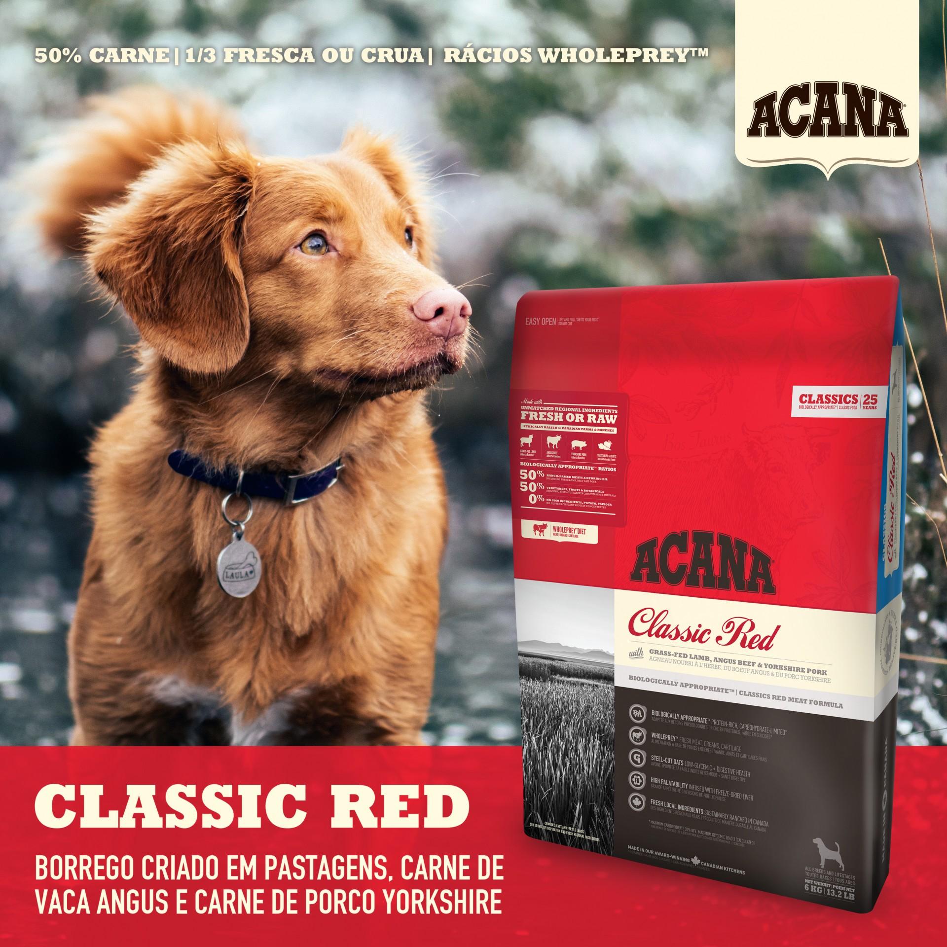Acana Classics Red