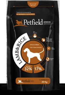 Petfield Premium Pet Food Lamb & Rice