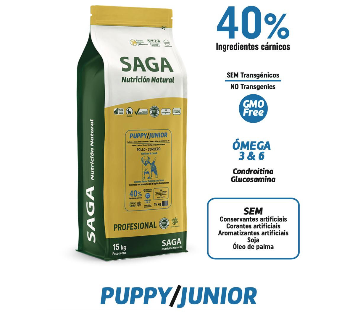 SAGA PUPPY & JUNIOR 15kg