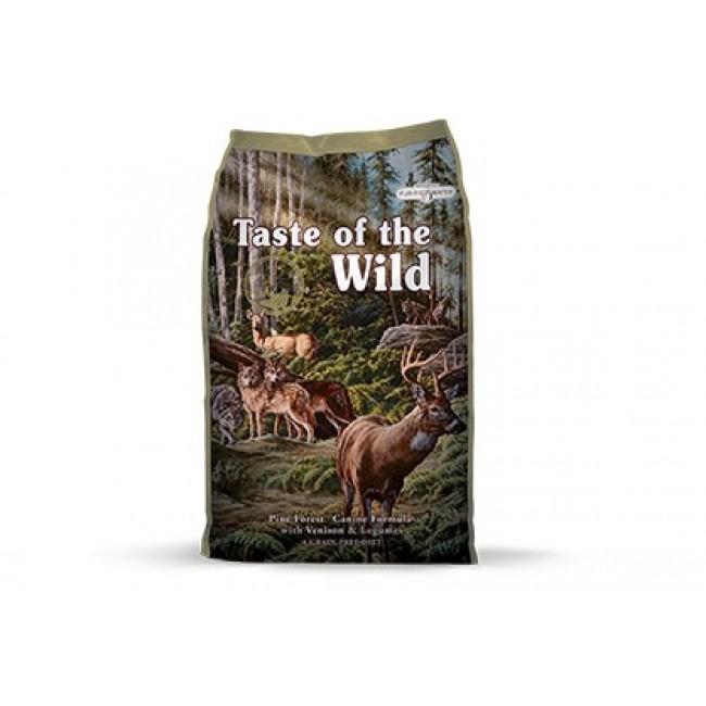 Taste of the Wild - Pine Forest Veado e Legumes