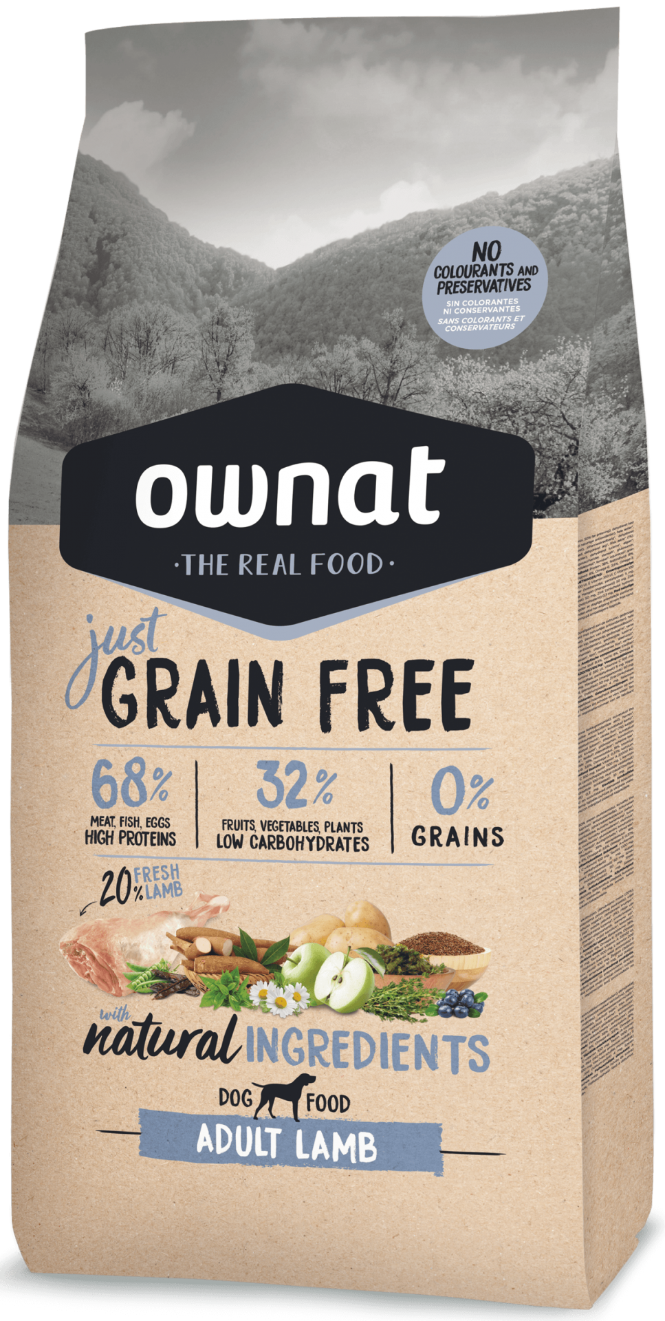 Ownat Grain Free Adult Lamb