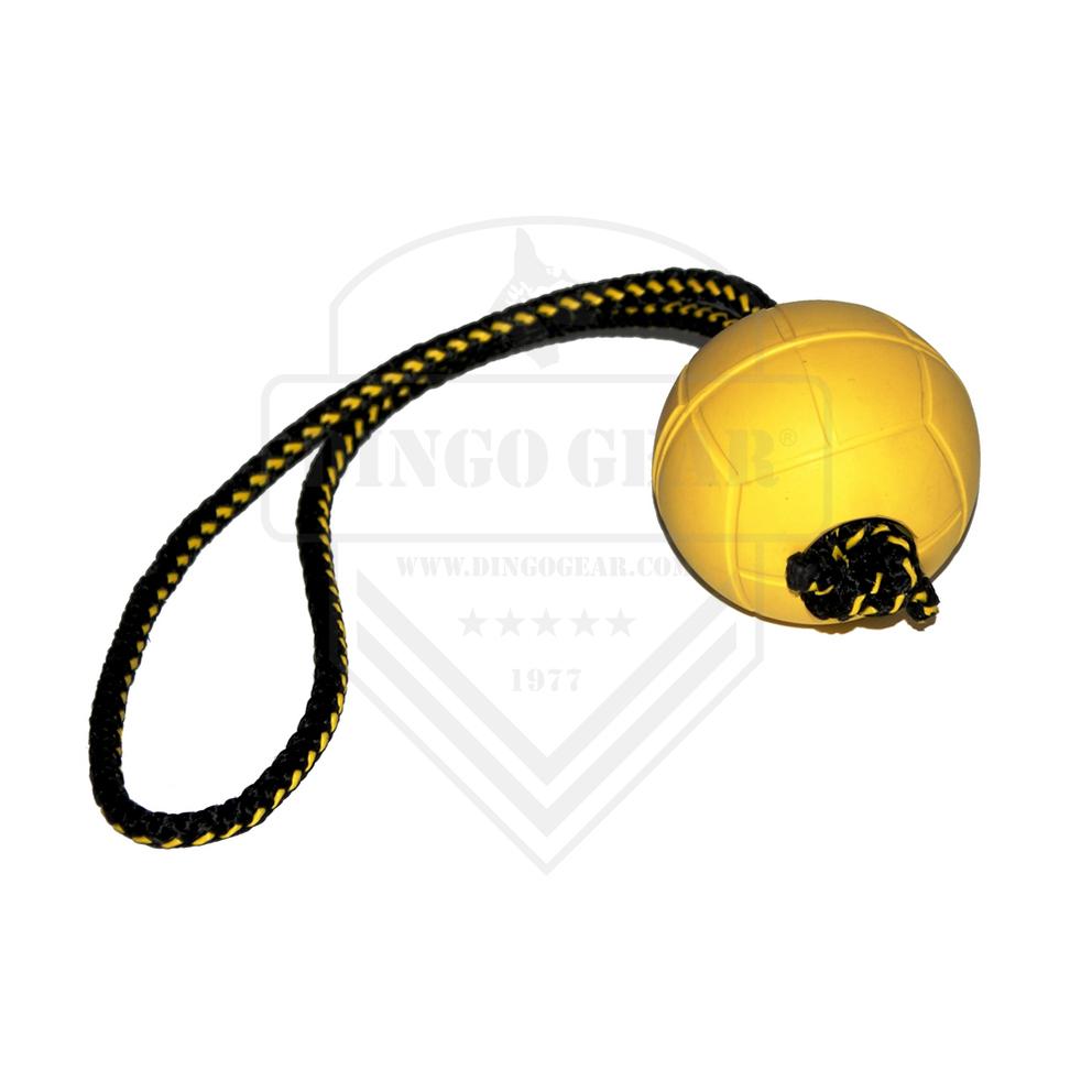 Bola de borracha macia e flutuante com cordão de 30 cm para treino DINGO GEAR