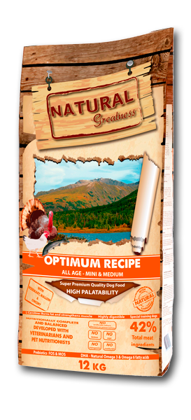 Natural Greatness Super Premium Optimum Recipe Mini & Medium Breed