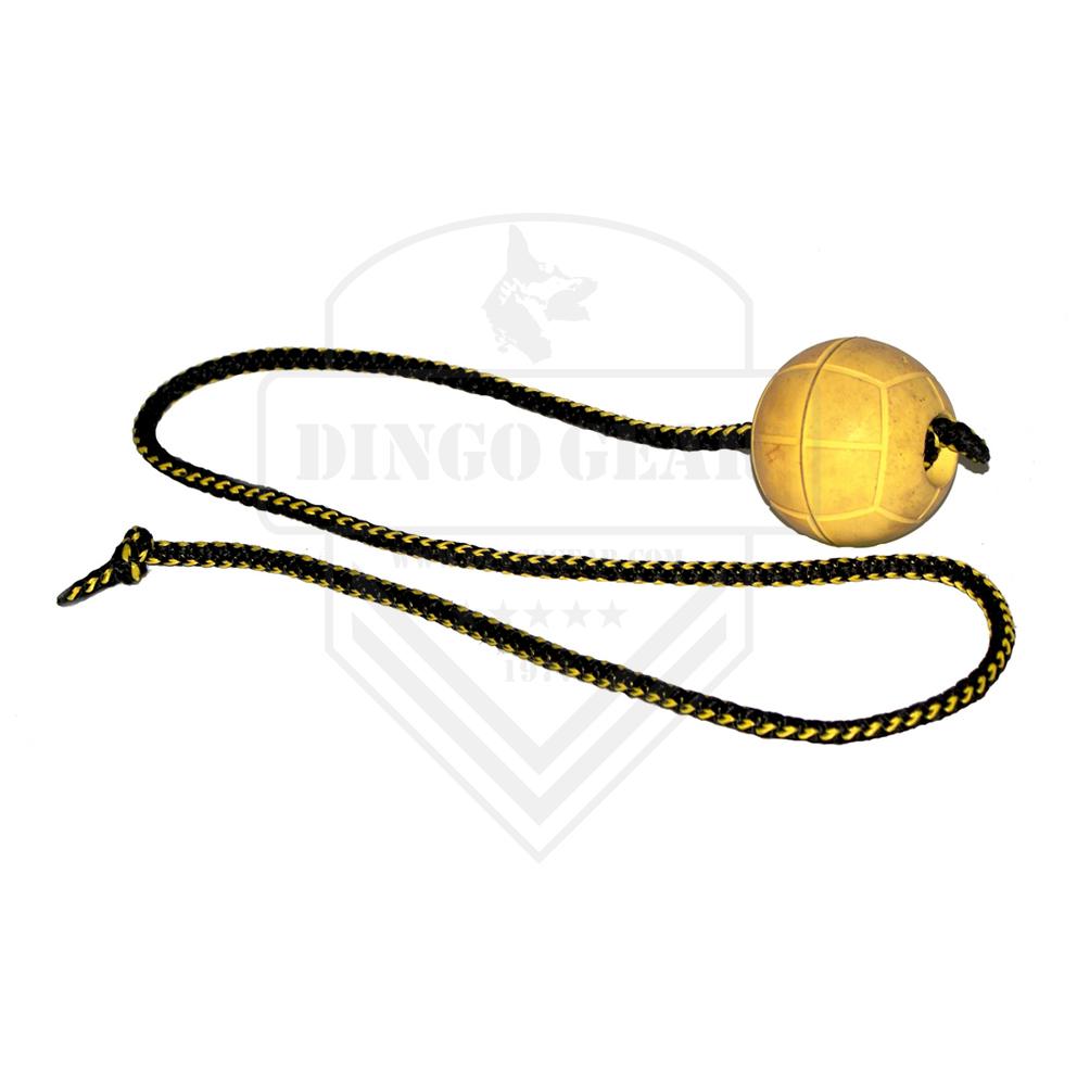 Bola de borracha macia e flutuante com cordão de 100cm para treino DINGO GEAR
