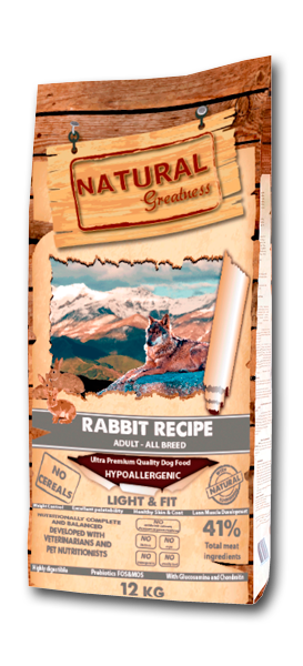 Natural Greatness Super Premium Rabbit Recipe