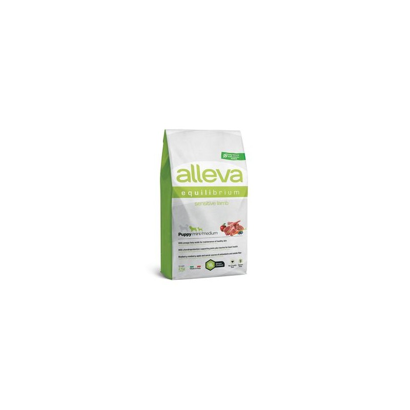 Equilibrium Sensitive Cordeiro Puppy Mini/Medium 2kg