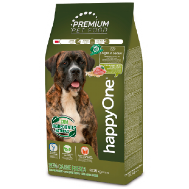 HappyOne Premium Cão Light e Senior