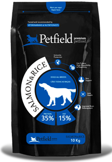Petfield Premium Pet Food Salmon & Rice