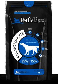 Petfield Premium Pet Food Salmon & Rice