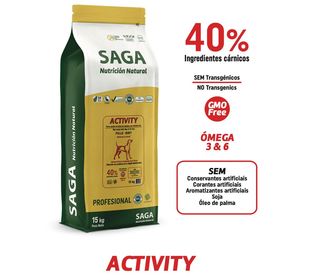 SAGA ACTIVITY 15kg