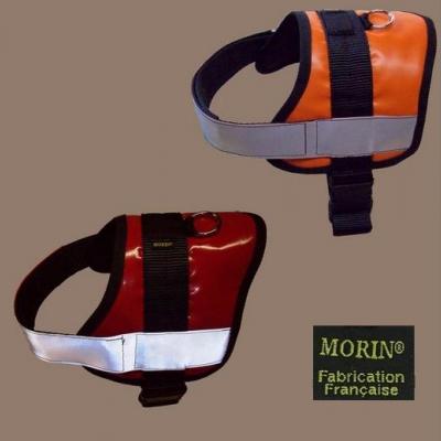 Arnês de busca com banda refletora MORIN