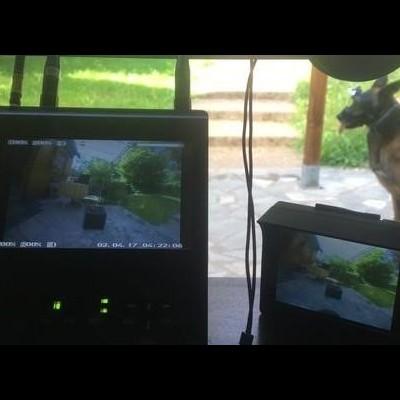 Câmara de bordo K9 VISION SYSTEM HELM OPS