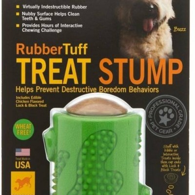 Starmark Rubbertuff Treat Stump