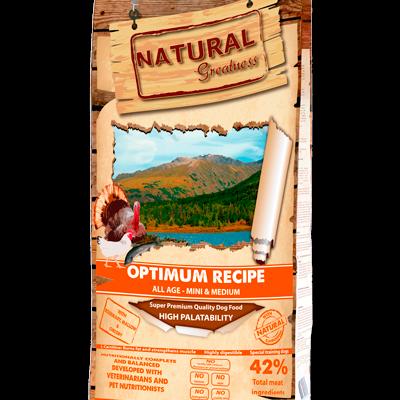 Natural Greatness Super Premium Optimum Recipe Mini & Medium Breed