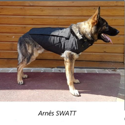 Arnês de proteção para cães ESPECIAL SWAT MORIN
