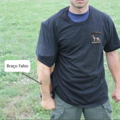 Braço falso com punho fechado EXTREME K-9