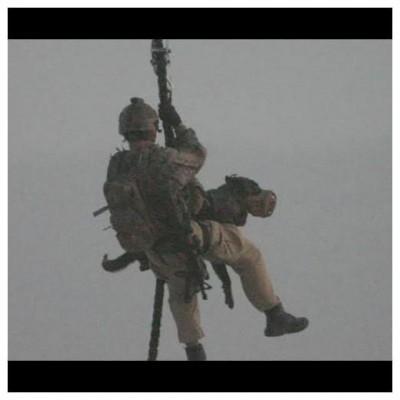 Cabo de descida específico homem + cão FRD