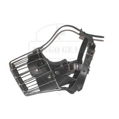 Açaime de metal reforçado para cão Rottweiler DINGO GEAR