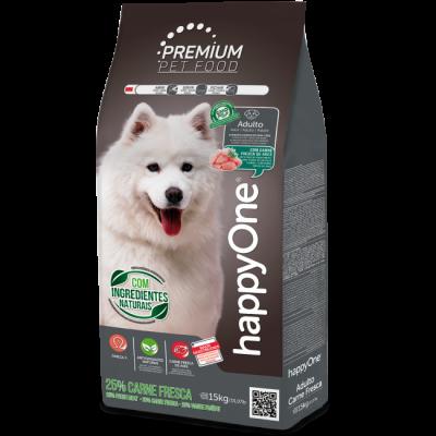 HappyOne Premium Cão Adulto Carne Fresca