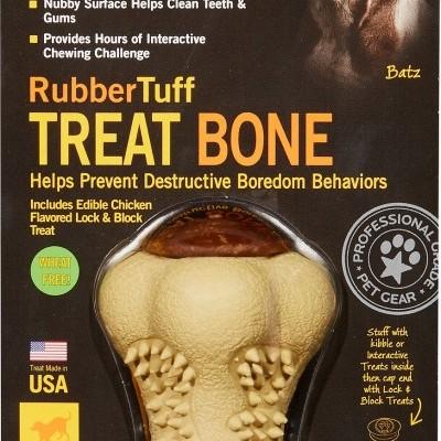 Starmark Rubbertuff Treat Bone