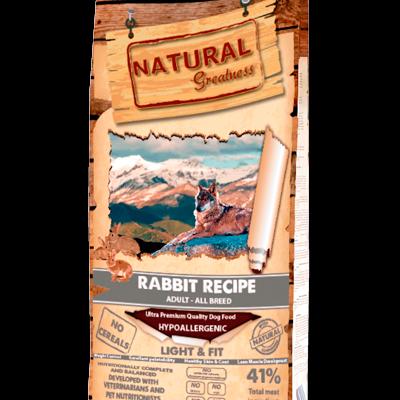 Natural Greatness Super Premium Rabbit Recipe