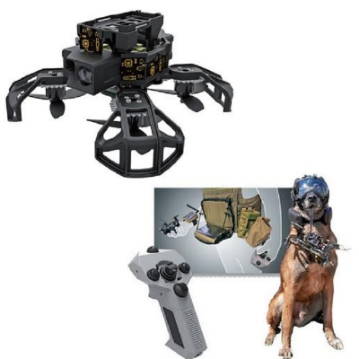 Drone com Câmera  das forças especiais - NANOHAWK