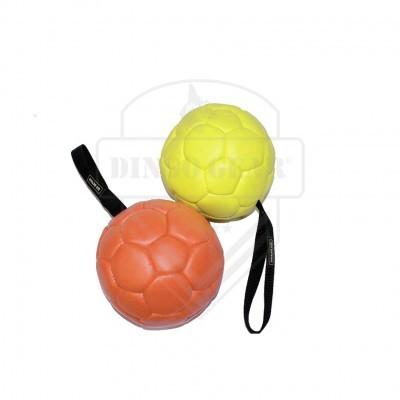 Bola de couro ecológico com pega DINGO GEAR