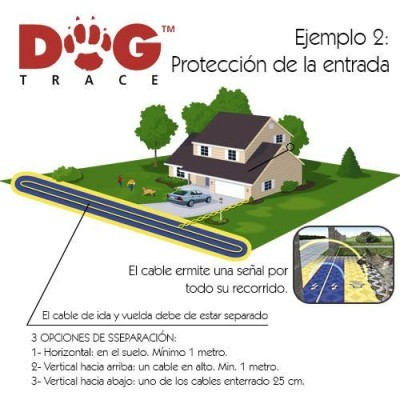 Dogtrace D-FENCE 6th SENSE DIGITAL 2200 m