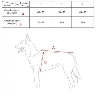 Arnês à prova de balas para cães com sistema MOLLE MORIN