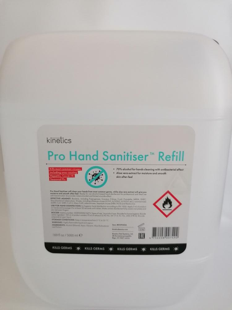 Pro Hand Sanitiser Refill 5000ml