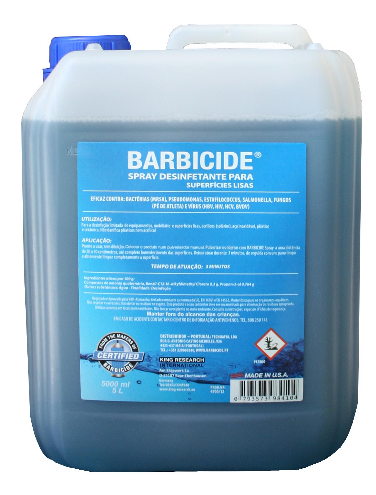 Recarga Barbicide Spray 5000ml