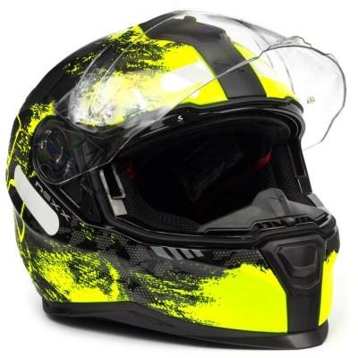 Capacete Nexx SX.100 Toxic Black/Yellow