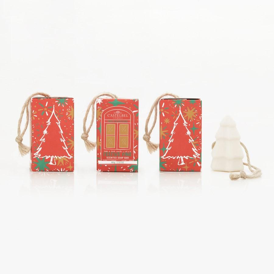 Sabonete Castelbel Happiest Xmas Tree - Red Box