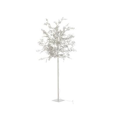 Árvore Folhas Prata Grande