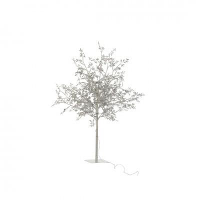 Árvore Folhas Prata Média